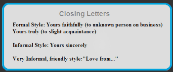 Business Letter Format Yours Truly.  Free Letter Format Examples and Samples